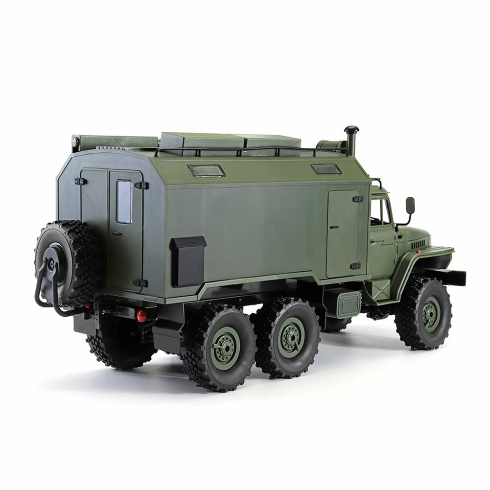 rc-cars WPL B36 Ural 1/16 2.4G 6WD Rc Car Military Truck Rock Crawler Command Communication Vehicle RTR Toy RC1353390 6