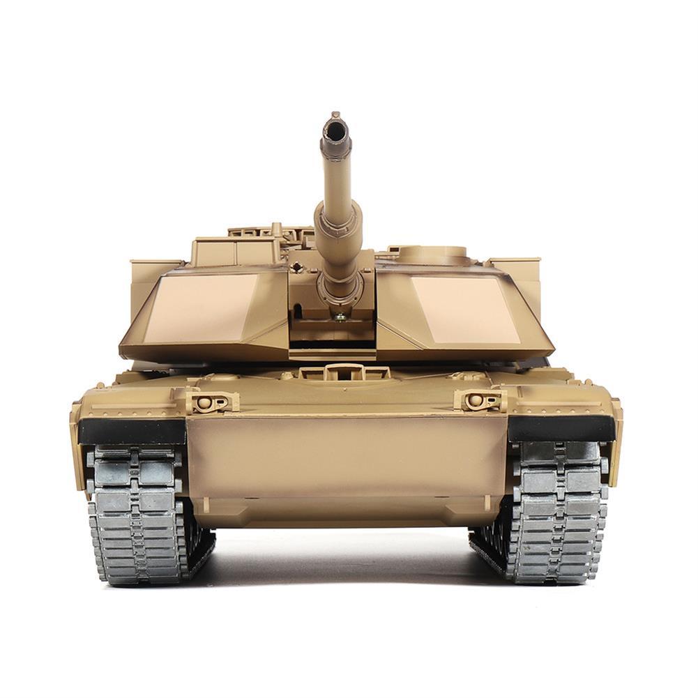 rc-tank Heng Long 3918-1 1/16 2.4G M1A2 Rc Car Battle Tank Metal Track with Sound Smoke Toy RC1360076 4