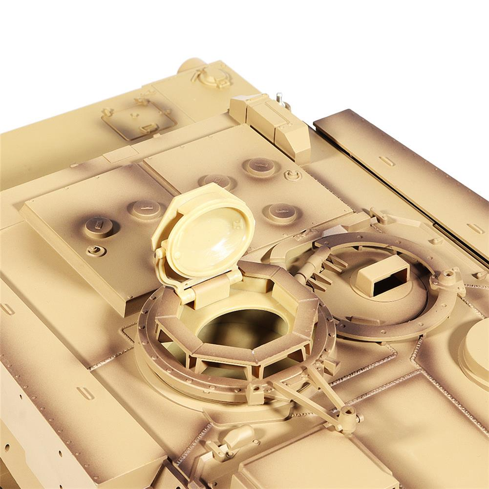 rc-tank Heng Long 3918-1 1/16 2.4G M1A2 Rc Car Battle Tank Metal Track with Sound Smoke Toy RC1360076 8