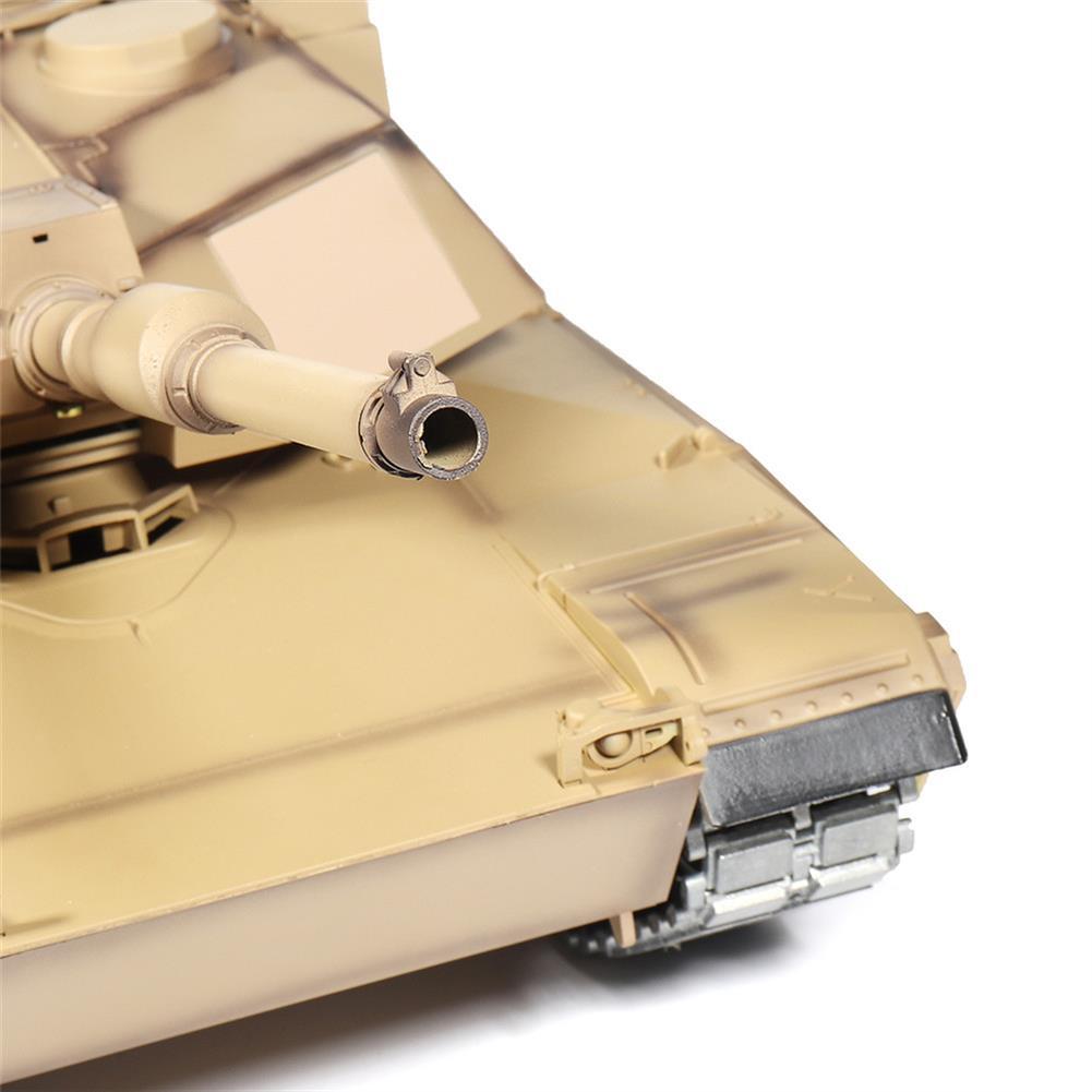rc-tank Heng Long 3918-1 1/16 2.4G M1A2 Rc Car Battle Tank Metal Track with Sound Smoke Toy RC1360076 9