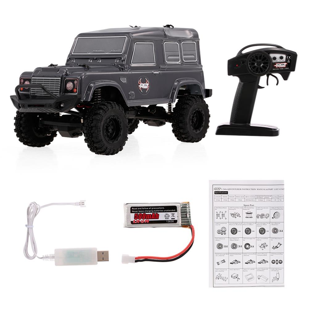 rc-cars 136240 1/24 2.4G RC Car 4WD 15KM/H Vehicle RC Rock Crawler Off-road Buggy RC Car Toys RC1364489 7