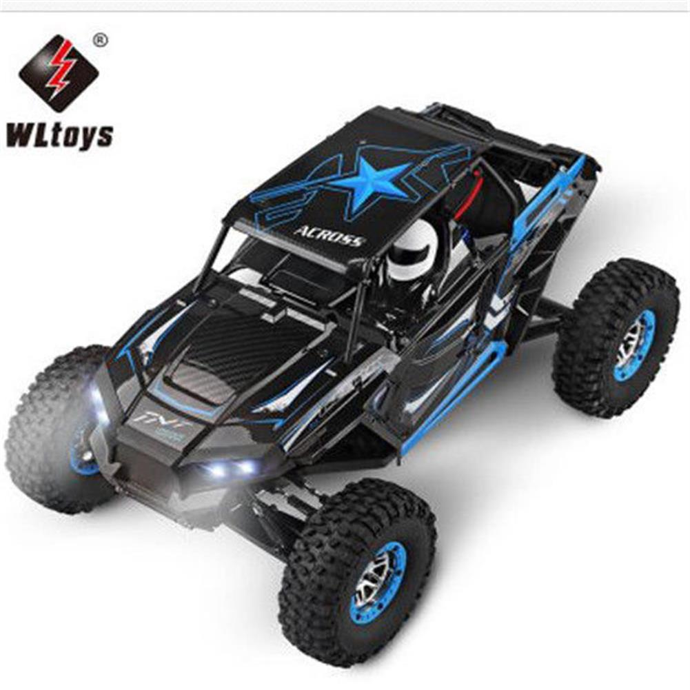 rc-cars WLtoys 12428-B 1/12 2.4G 4WD RC Car Electric 50KM/h High Speed Off-Road Truck Toys RC1365111 2