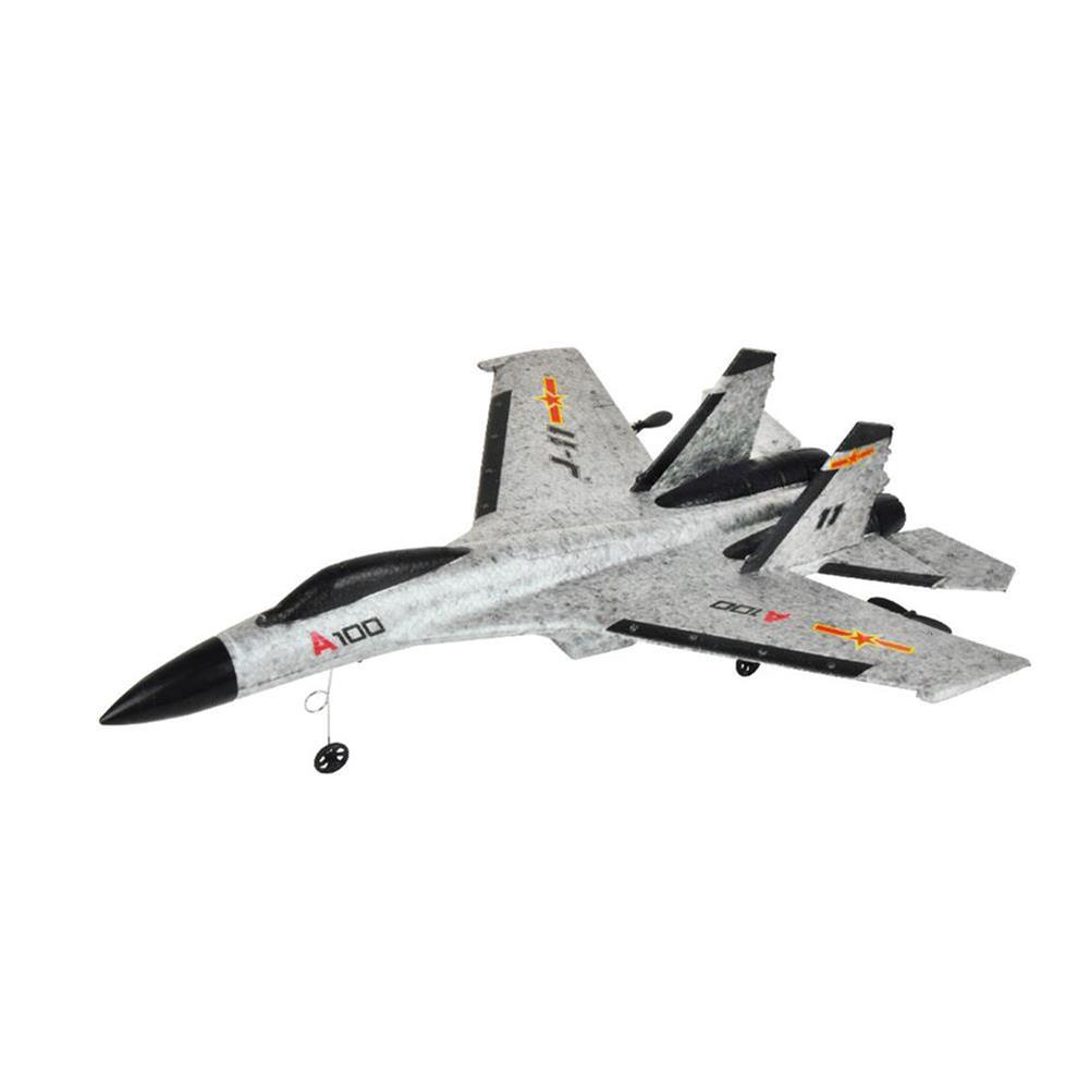 rc-airplanes XK A100-J11 EPP 340mm Wingspan 2.4G 3CH RC Airplane Fixed Wing Aircraft Built-in Gyro Grey RC1365446 1