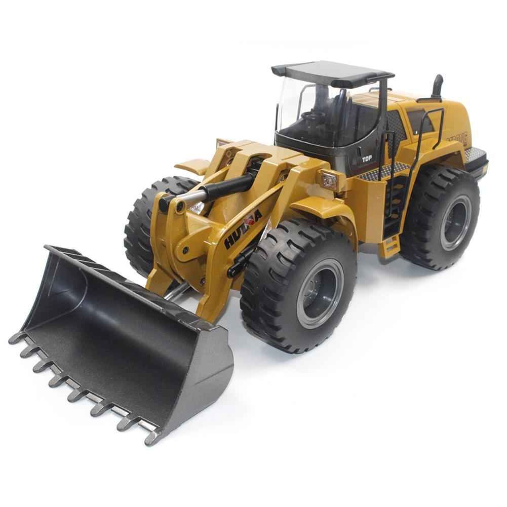 rc-cars HuiNa Toys 583 6 Channel 1/18 RC Metal Bulldozer Charging RC Car Metal Edition RC1366772