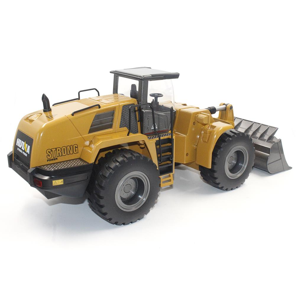 rc-cars HuiNa Toys 583 6 Channel 1/18 RC Metal Bulldozer Charging RC Car Metal Edition RC1366772 2