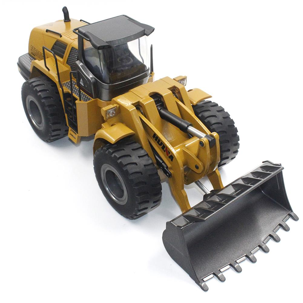 rc-cars HuiNa Toys 583 6 Channel 1/18 RC Metal Bulldozer Charging RC Car Metal Edition RC1366772 3