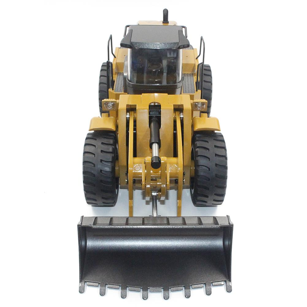 rc-cars HuiNa Toys 583 6 Channel 1/18 RC Metal Bulldozer Charging RC Car Metal Edition RC1366772 4