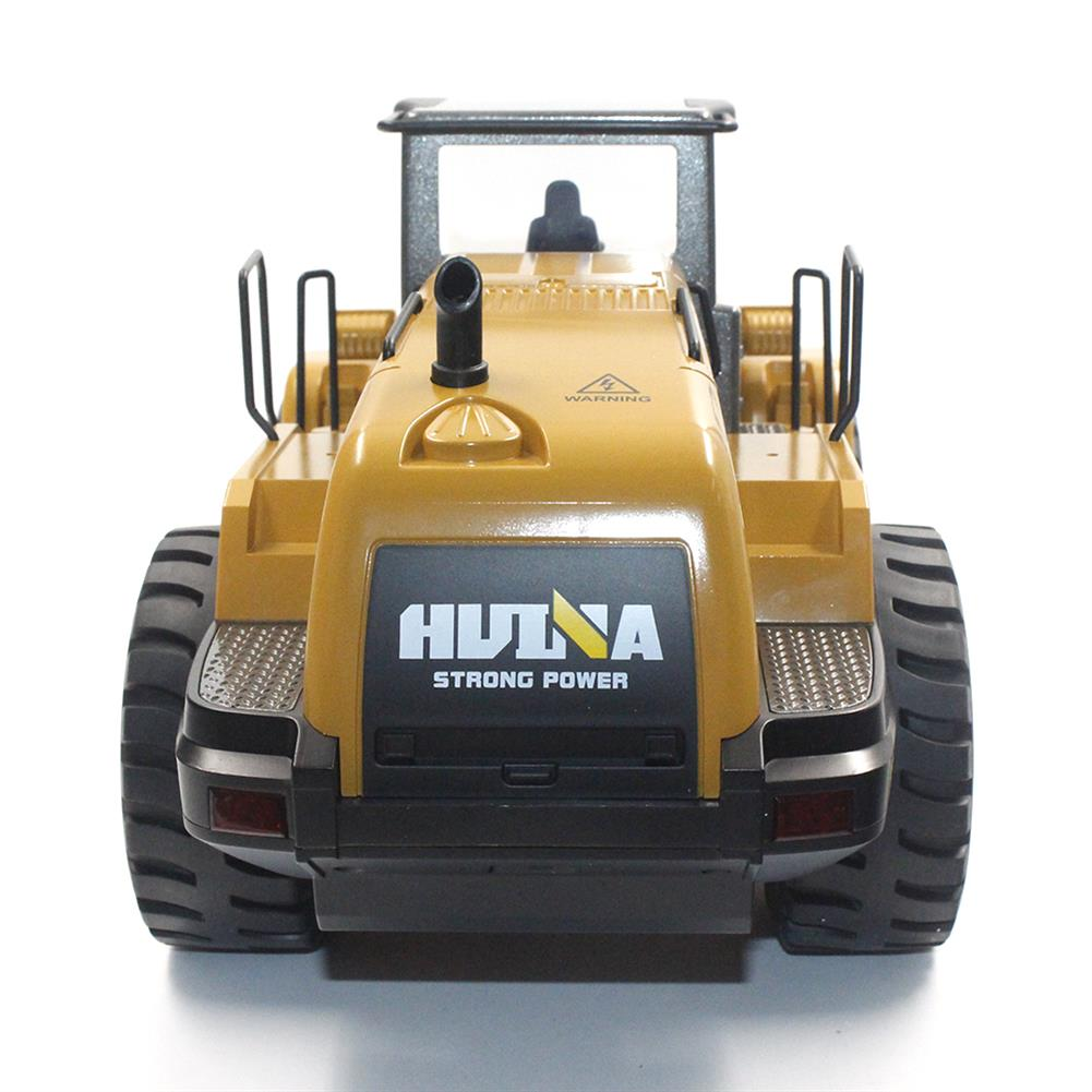 rc-cars HuiNa Toys 583 6 Channel 1/18 RC Metal Bulldozer Charging RC Car Metal Edition RC1366772 5