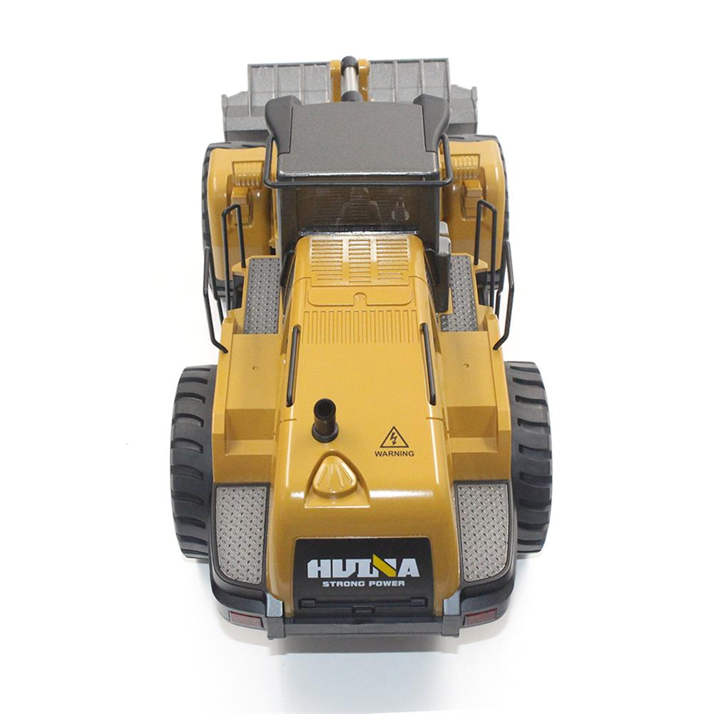 rc-cars HuiNa Toys 583 6 Channel 1/18 RC Metal Bulldozer Charging RC Car Metal Edition RC1366772 6
