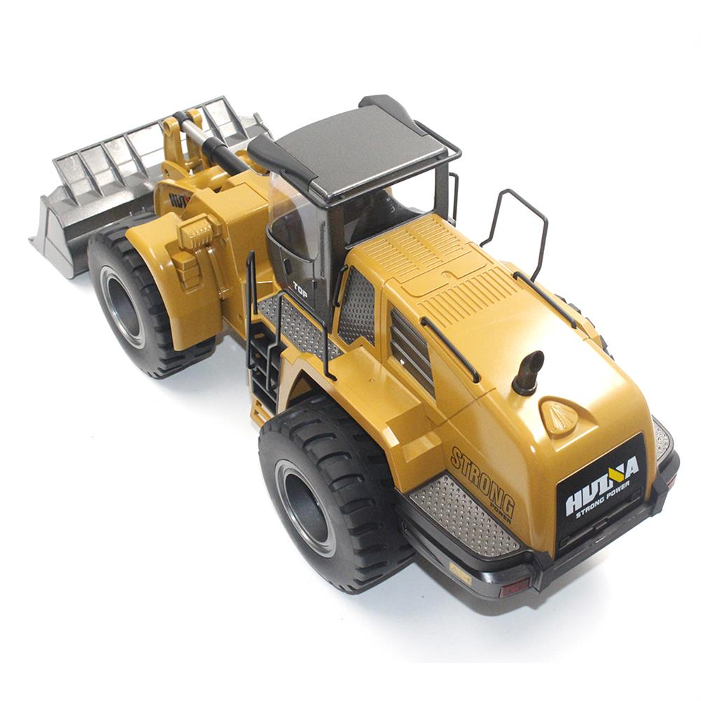 rc-cars HuiNa Toys 583 6 Channel 1/18 RC Metal Bulldozer Charging RC Car Metal Edition RC1366772 8