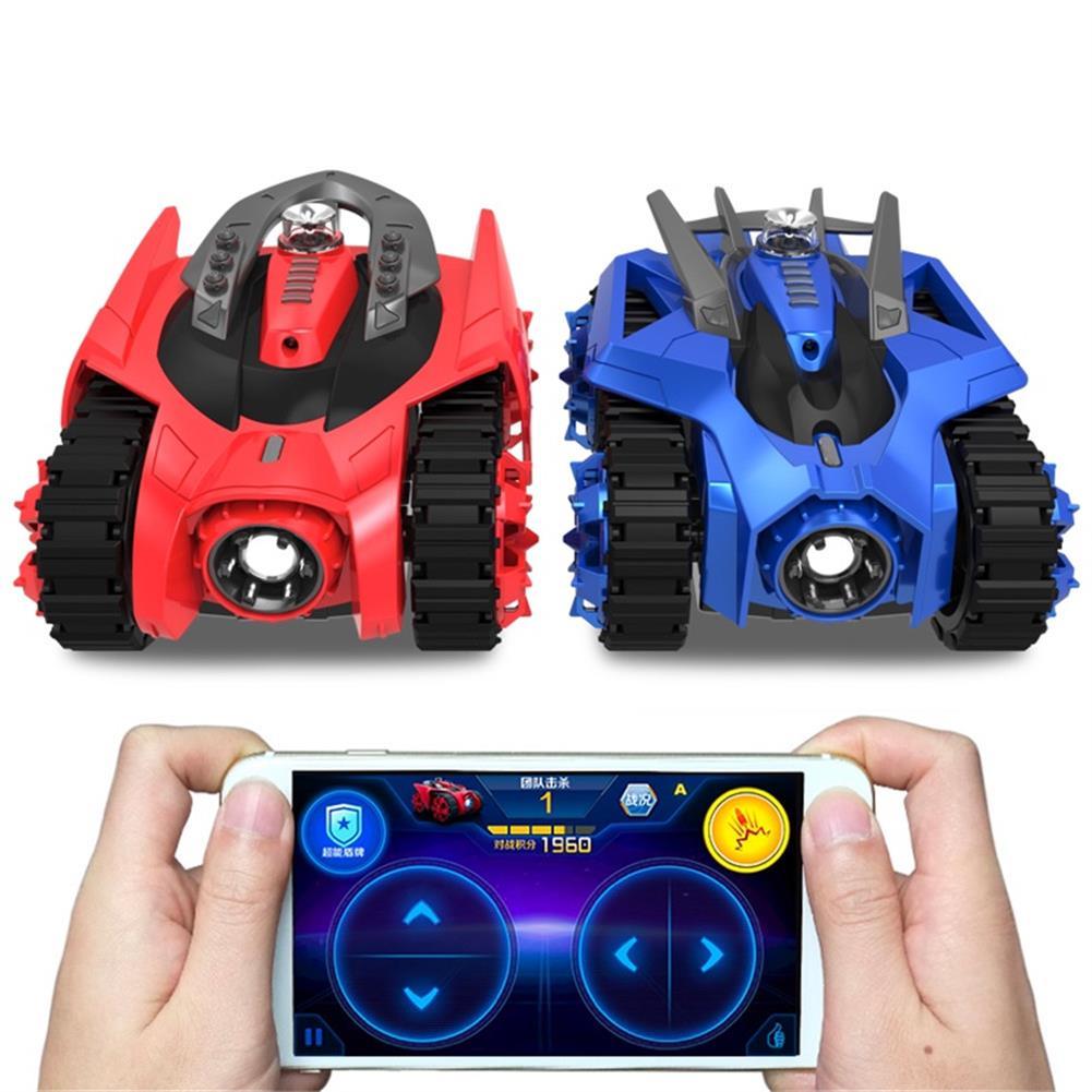 rc-tank 2PCS Galaxy Zega LEO GONDAR Rc Car youpin Tank For XiaoMi App Control Game Compatible W/ IOS Android RC1370022