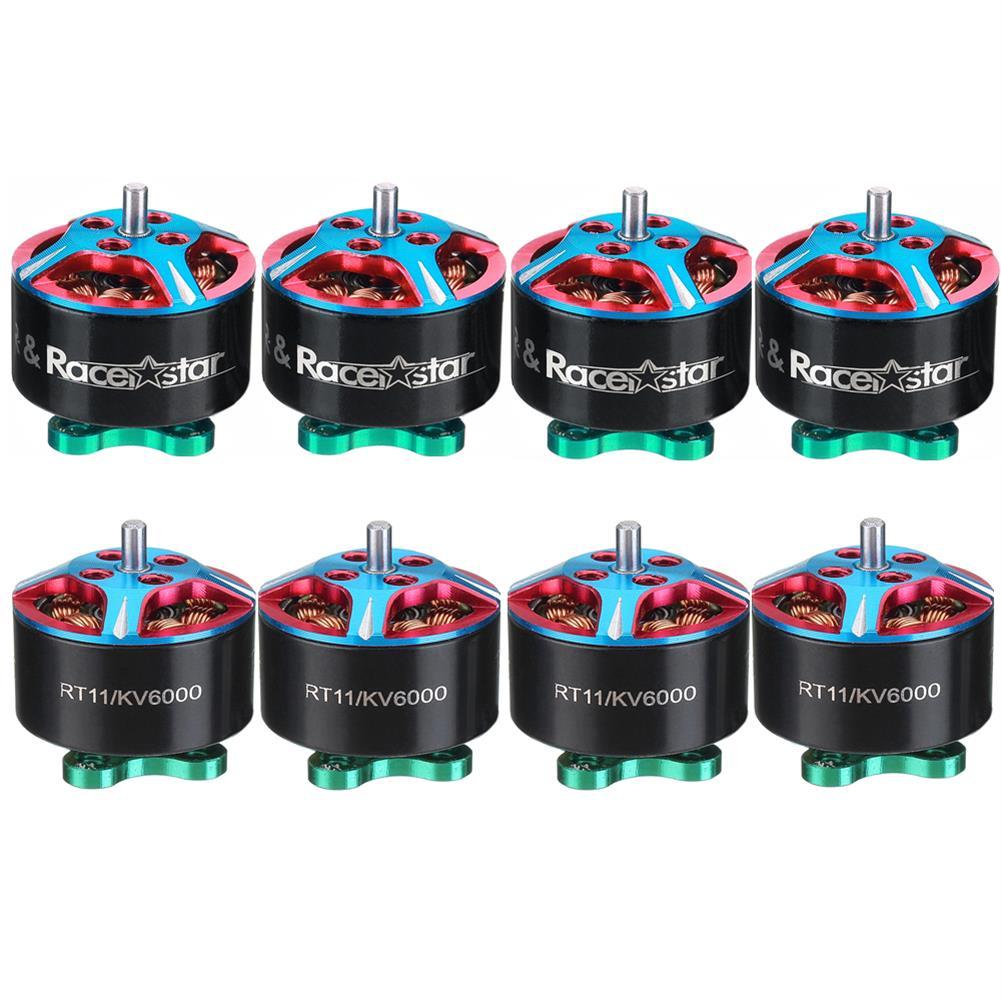 multi-rotor-parts 8 PCS Wholesale Racerstar RT11 1106 6000KV 2-3S FPV Racing Brushless Motor (28% off : 28RC) RC1373369