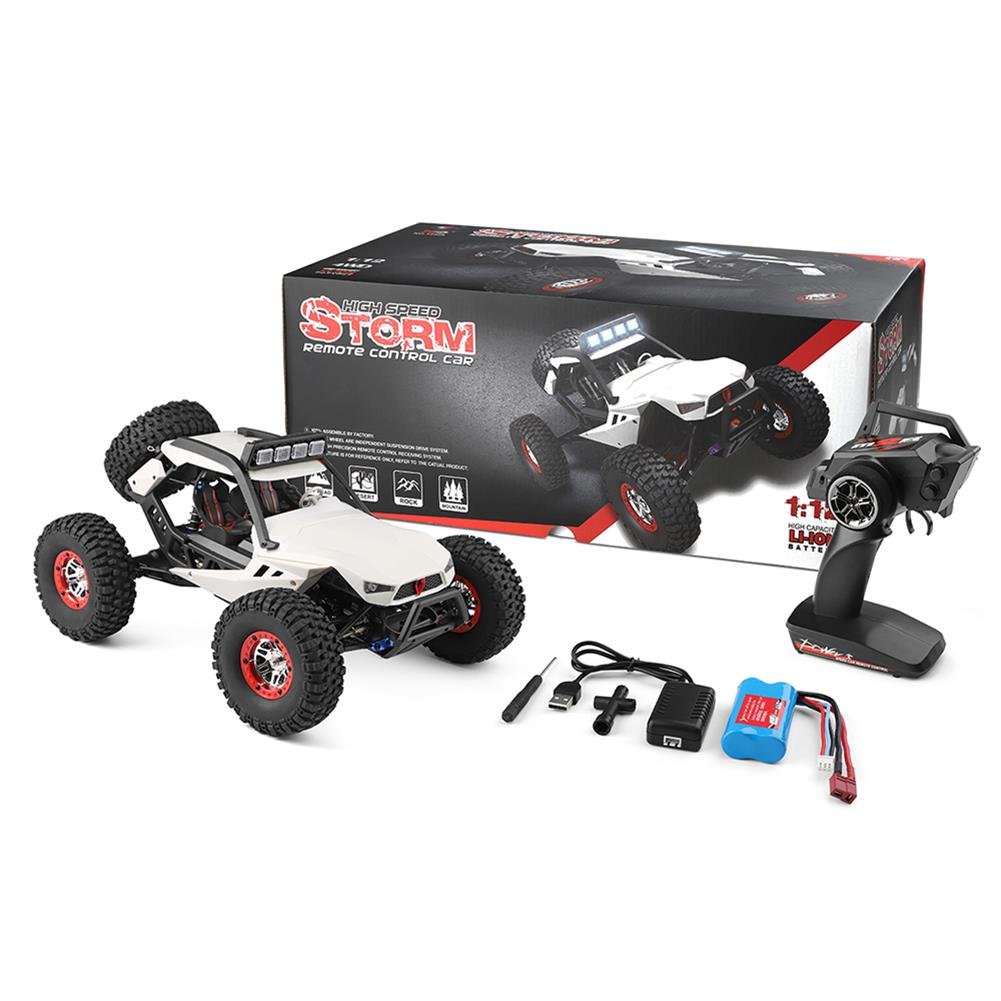 rc-cars Wltoys 12429 1/12 2.4G 4WD High Speed 40km/h Off-Road On-Road RC Car Buggy With Head Light RC1376952 8