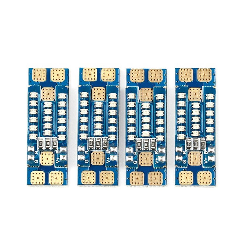 multi-rotor-parts 4 PCS iFlight PDB LED Board 17 Bits 0603 RGB 40A 35mm For RC Drone FPV Racing Multi Rotor RC1381029 1