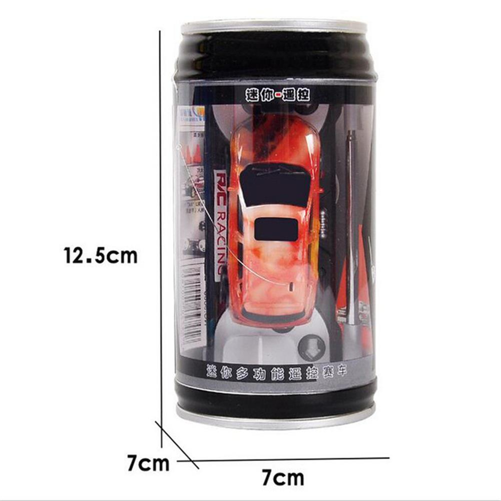 rc-cars 1PC Mini Coke Rc Car W/ LED Light Radio Control Micro Racing Toy Random Color RC1382442 5