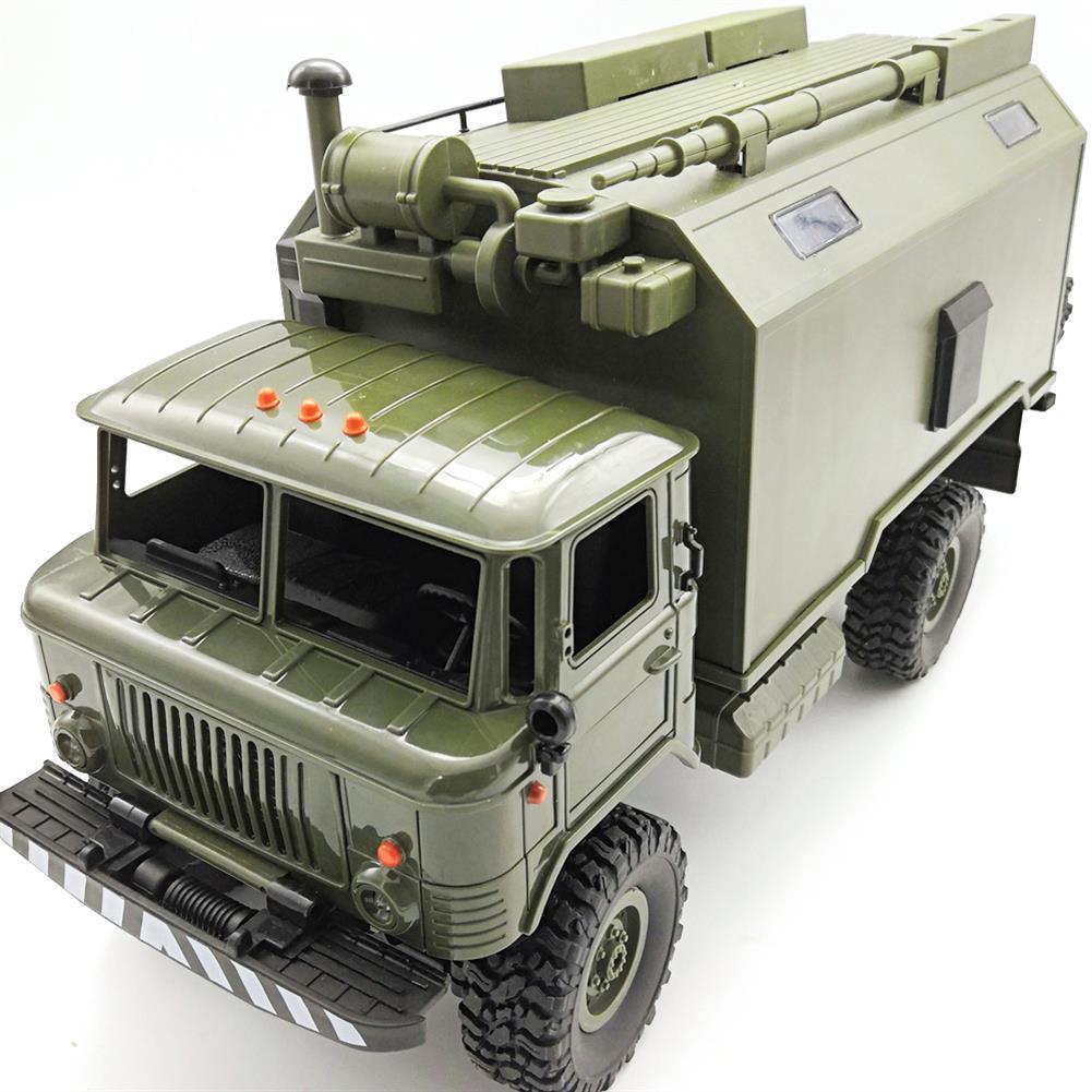 rc-cars WPL B24ZH GASS 66 1/16 2.4G 4WD Rc Car Military Truck Rock Crawler RTR Toy RC1382988 1