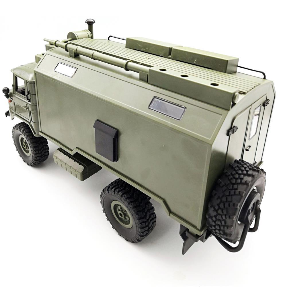 rc-cars WPL B24ZH GASS 66 1/16 2.4G 4WD Rc Car Military Truck Rock Crawler RTR Toy RC1382988 4