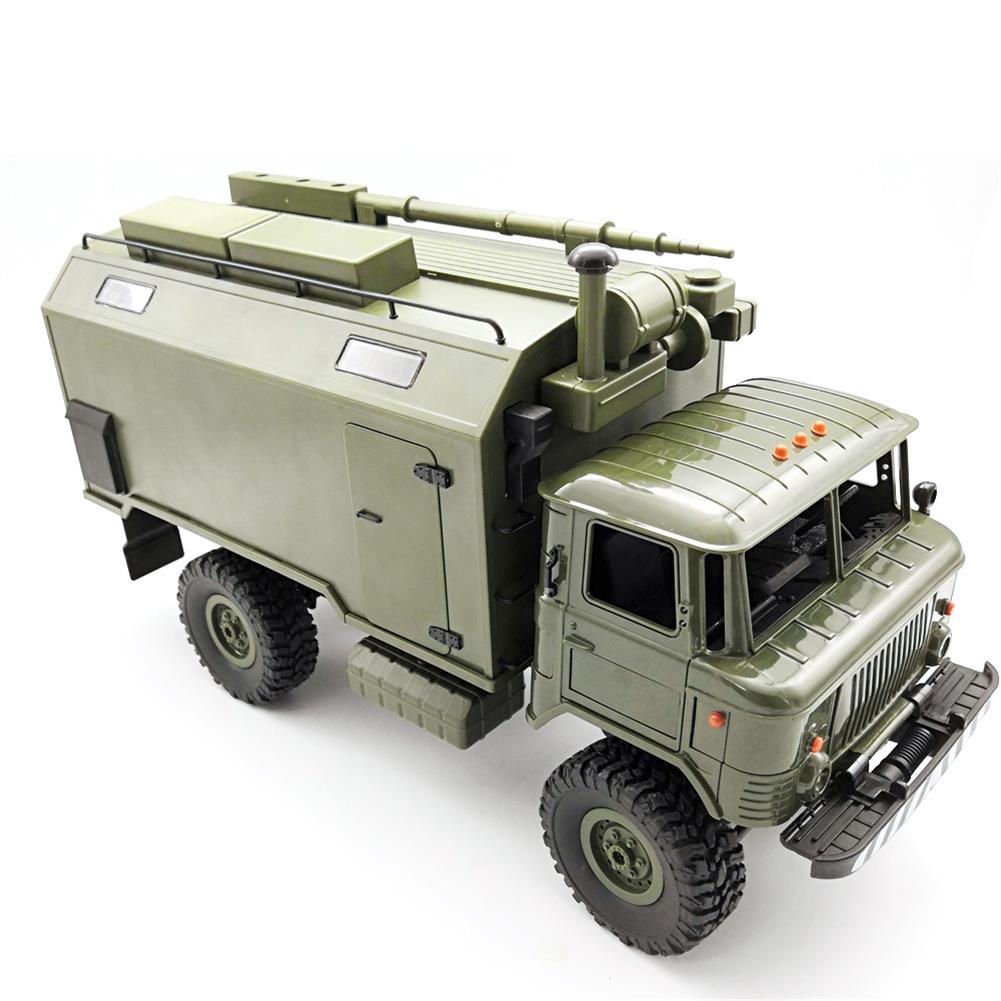 rc-cars WPL B24ZH GASS 66 1/16 2.4G 4WD Rc Car Military Truck Rock Crawler RTR Toy RC1382988 5
