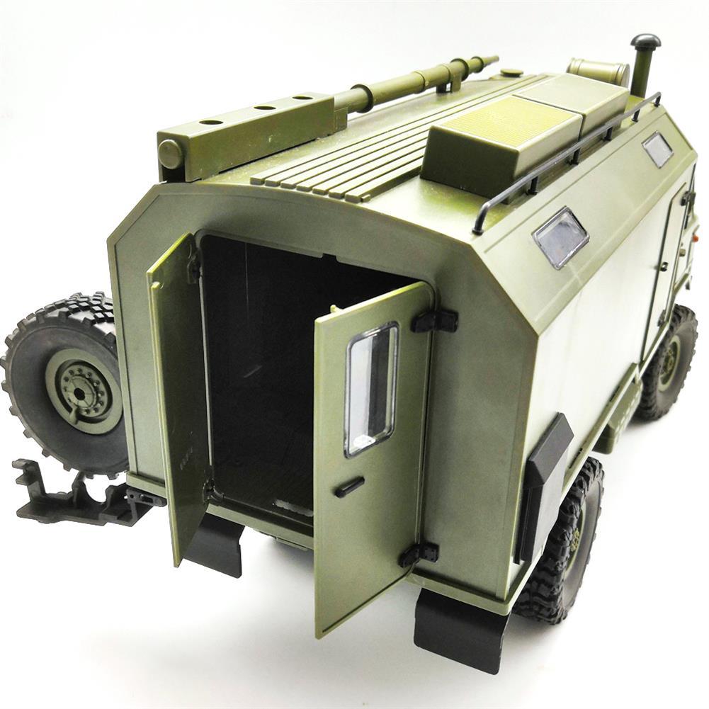 rc-cars WPL B24ZH GASS 66 1/16 2.4G 4WD Rc Car Military Truck Rock Crawler RTR Toy RC1382988 9