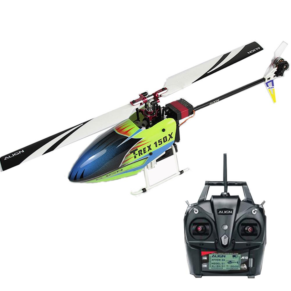 rc-helicopter ALIGN T-REX 150X TA 2.4G 6CH Super Combo 3D Mini Helicopter with A10 Transmitter RTF RC1383363