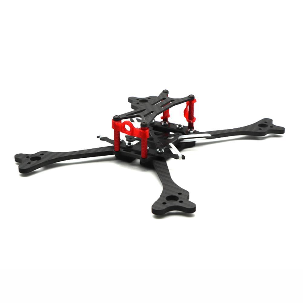 multi-rotor-parts HSKRC LX215 215mm Wheelbase 4mm Arm Carbon Fiber RC Drone FPV Racing Frame Kit 97g RC1385454