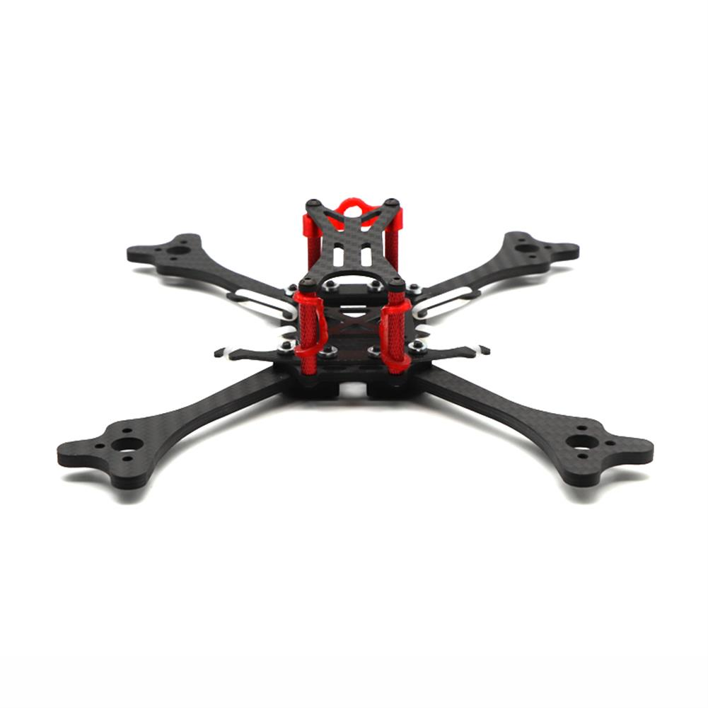 multi-rotor-parts HSKRC LX215 215mm Wheelbase 4mm Arm Carbon Fiber RC Drone FPV Racing Frame Kit 97g RC1385454 2