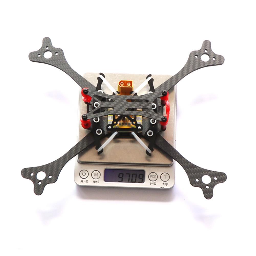 multi-rotor-parts HSKRC LX215 215mm Wheelbase 4mm Arm Carbon Fiber RC Drone FPV Racing Frame Kit 97g RC1385454 5