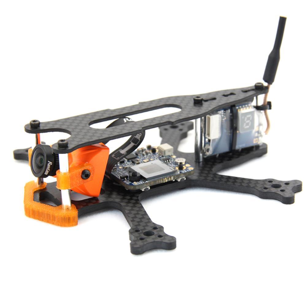multi-rotor-parts Frog 2 Inch 100mm Wheelbase 3mm Arm Carbon Fiber FPV Racing Frame Kit 20g RC1385470 1