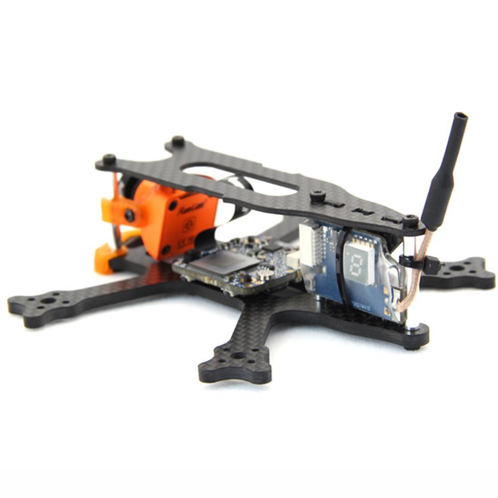 multi-rotor-parts Frog 2 Inch 100mm Wheelbase 3mm Arm Carbon Fiber FPV Racing Frame Kit 20g RC1385470 2