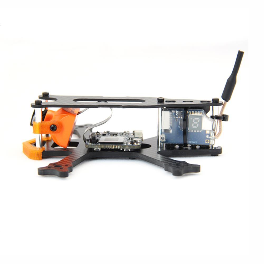 multi-rotor-parts Frog 2 Inch 100mm Wheelbase 3mm Arm Carbon Fiber FPV Racing Frame Kit 20g RC1385470 3