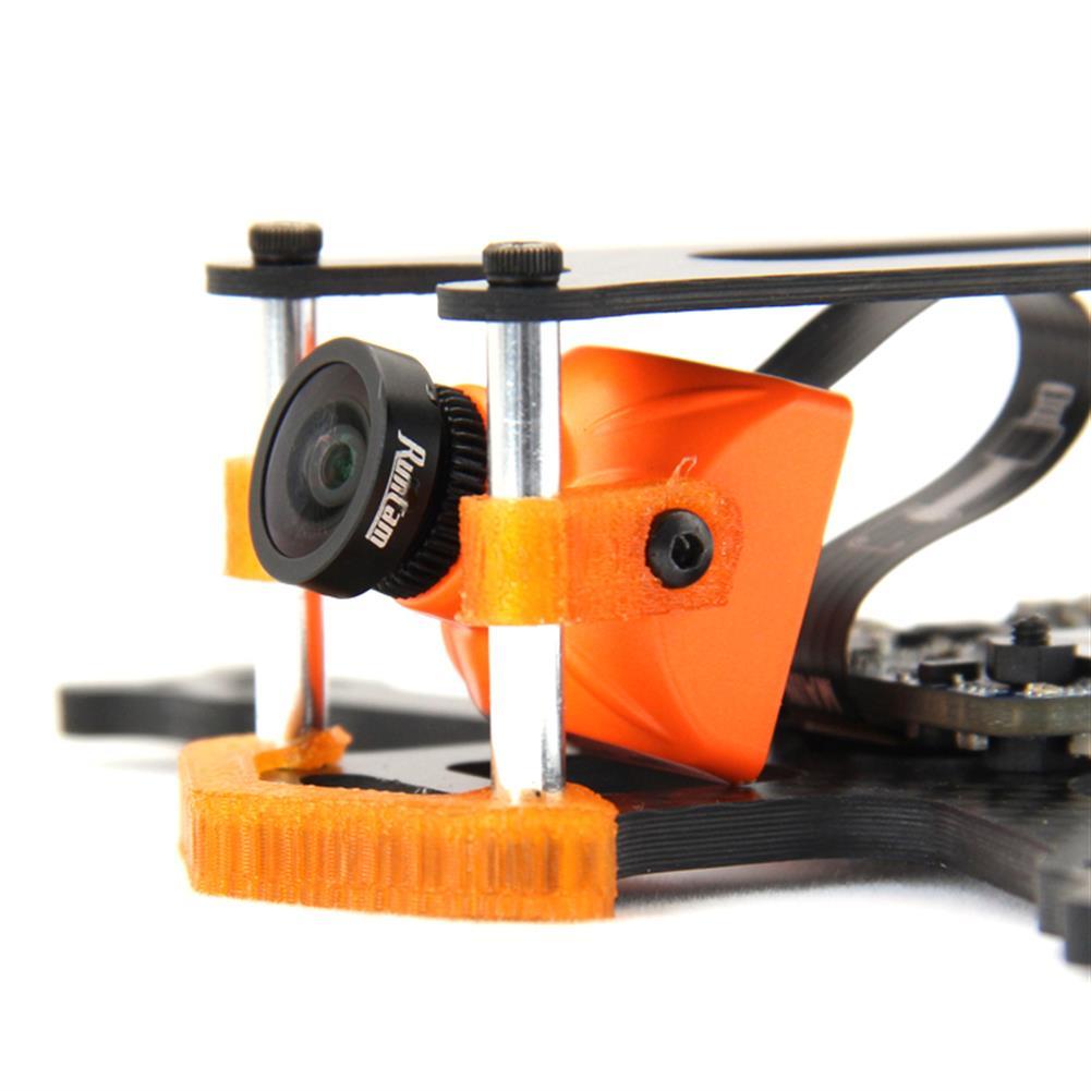 multi-rotor-parts Frog 2 Inch 100mm Wheelbase 3mm Arm Carbon Fiber FPV Racing Frame Kit 20g RC1385470 4
