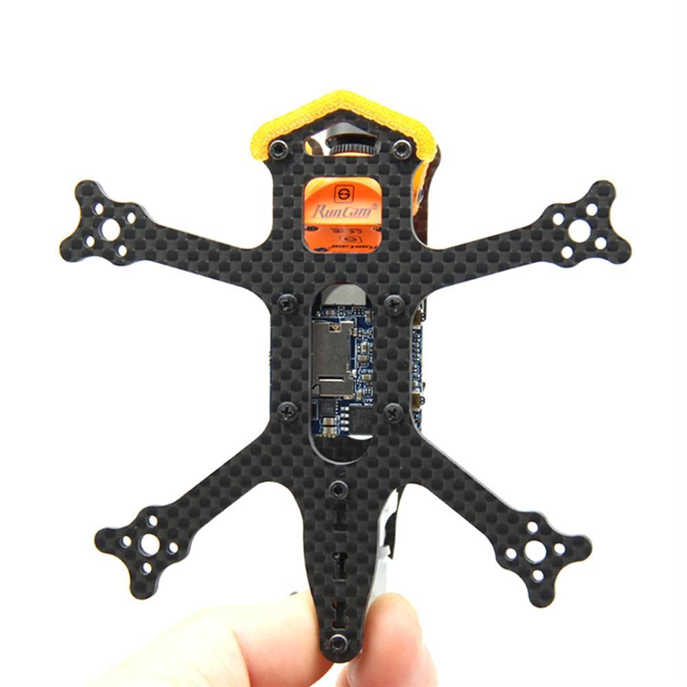 multi-rotor-parts Frog 2 Inch 100mm Wheelbase 3mm Arm Carbon Fiber FPV Racing Frame Kit 20g RC1385470 5