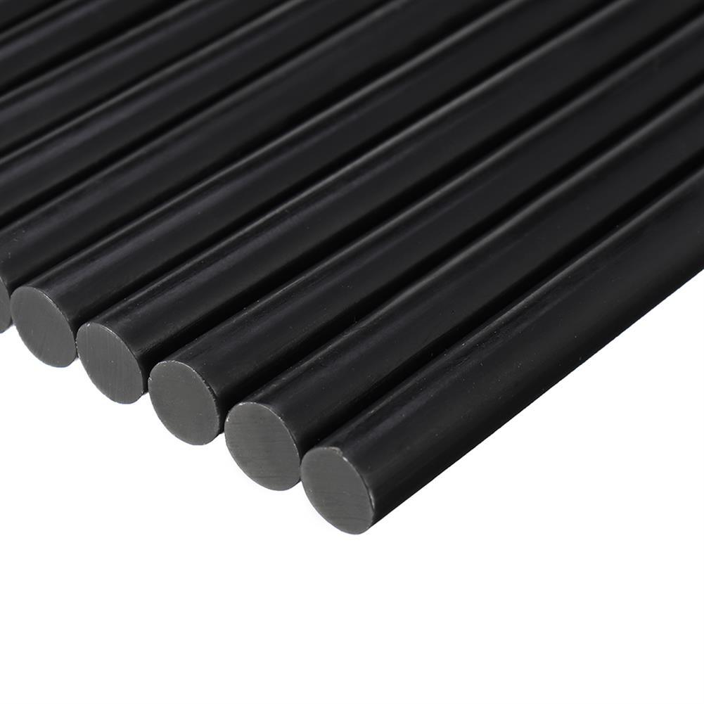 tools-bags-storage-10Pcs 7X190mm Black Hot Melt Glue High Temperature Glue Sticks for RC Models-RC1385638 5