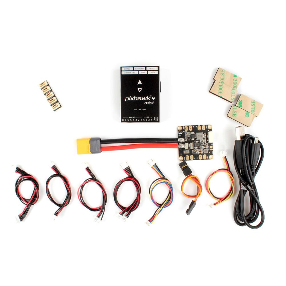 multi-rotor-parts Holybro Pixhawk 4 Mini Autopilot Flight Controller W/ PM06 Power Management 5V Output for RC Drone RC1386149