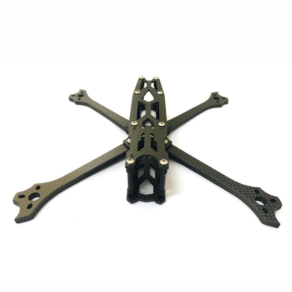 multi-rotor-parts XQ220 V2 220mm Wheelbase 5mm Arm Carbon Fiber FPV Racing Frame Kit 100g RC1386156 2