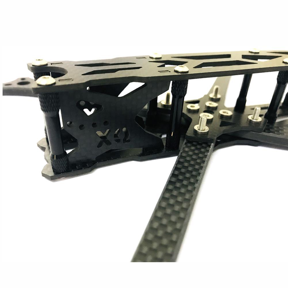 multi-rotor-parts XQ220 V2 220mm Wheelbase 5mm Arm Carbon Fiber FPV Racing Frame Kit 100g RC1386156 3