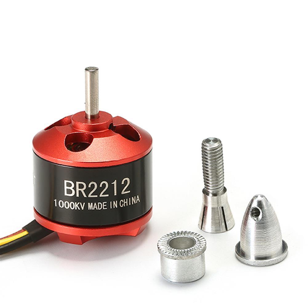 rc-airplane-parts 4PCS Racerstar BR2212 1000KV 2-4S Brushless Motor For RC Models RC1387392 6