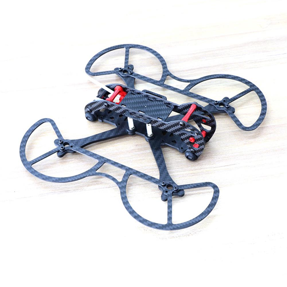 multi-rotor-parts HSKRC 3 Inch 155mm Wheelbase 3mm Arm Carbon Fiber FPV Racing Frame Kit with Protection Ring RC1387514