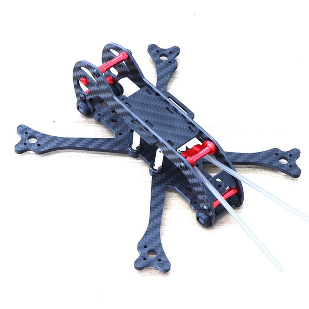 multi-rotor-parts HSKRC 3 Inch 155mm Wheelbase 3mm Arm Carbon Fiber FPV Racing Frame Kit with Protection Ring RC1387514 3