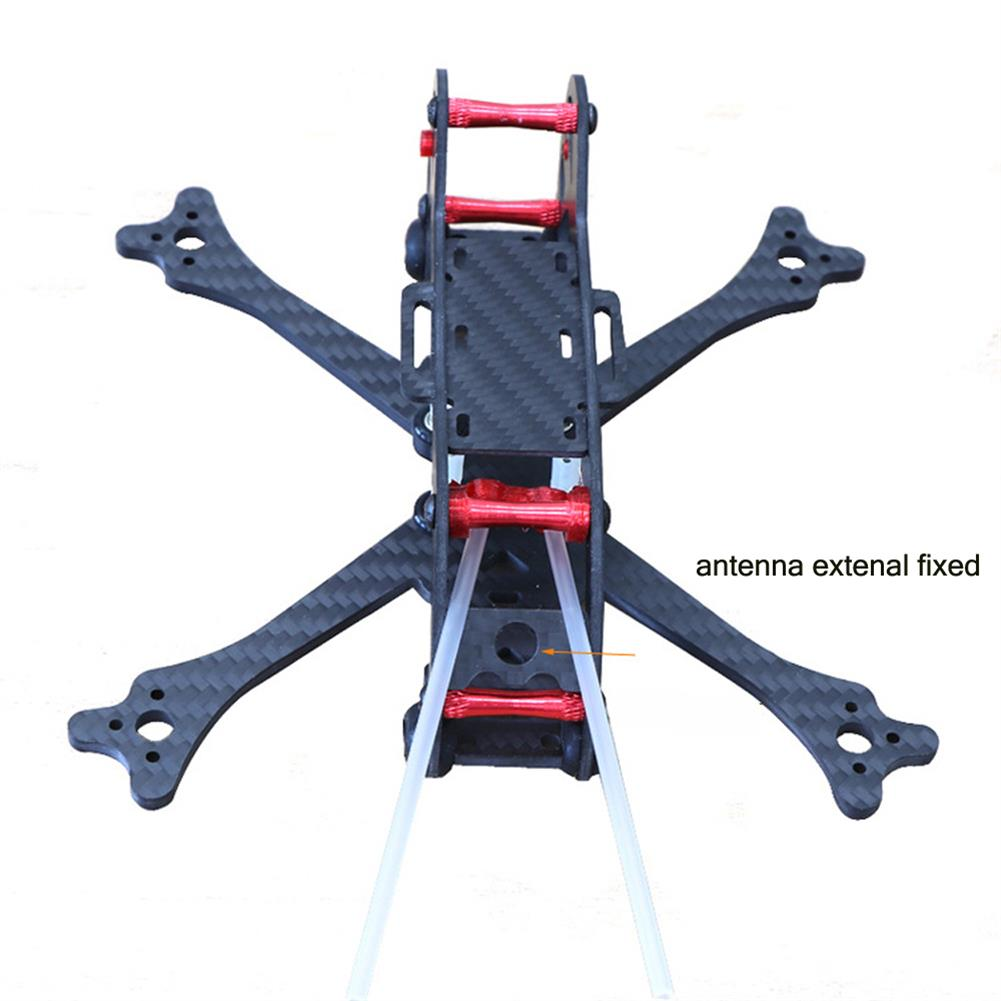 multi-rotor-parts HSKRC 3 Inch 155mm Wheelbase 3mm Arm Carbon Fiber FPV Racing Frame Kit with Protection Ring RC1387514 5
