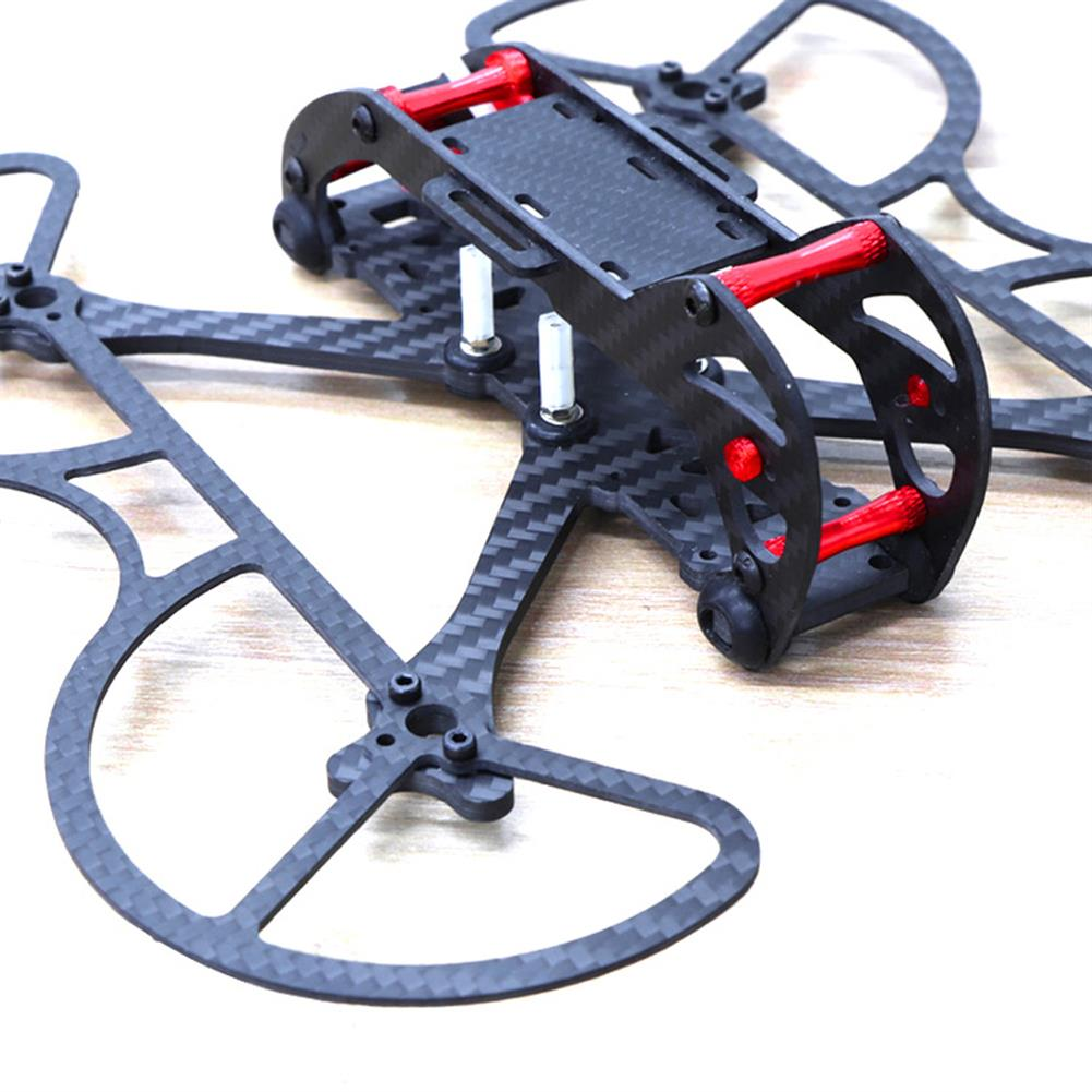 multi-rotor-parts HSKRC 3 Inch 155mm Wheelbase 3mm Arm Carbon Fiber FPV Racing Frame Kit with Protection Ring RC1387514 6