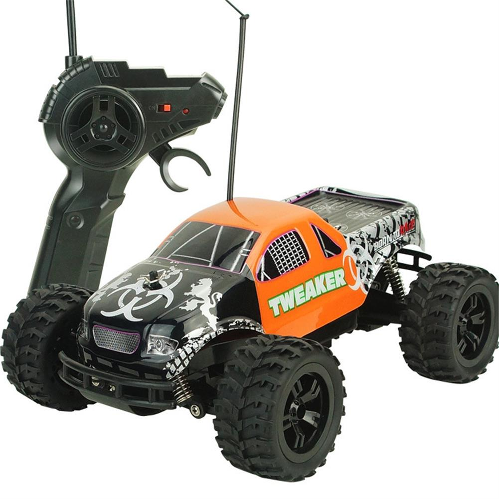 rc-cars Zingo Racing 9112M TWEAKER 15km/h 1/18 27MHZ RWD Rc Car Monster Off-road Truck RTR Toy RC1390109