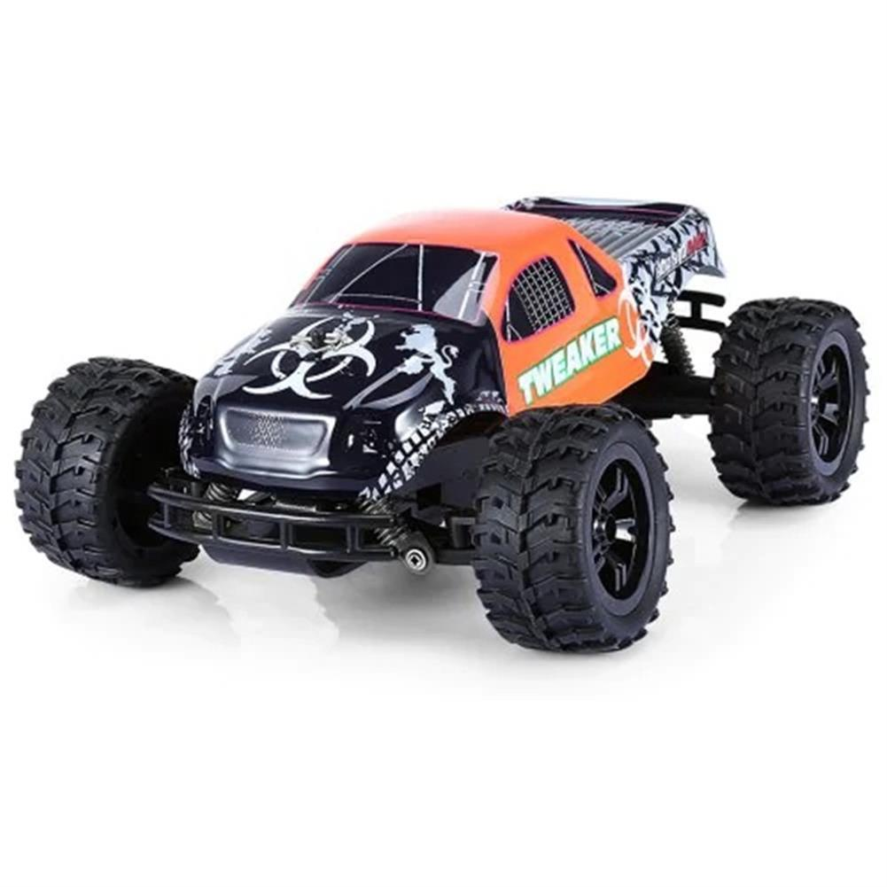 rc-cars Zingo Racing 9112M TWEAKER 15km/h 1/18 27MHZ RWD Rc Car Monster Off-road Truck RTR Toy RC1390109 1