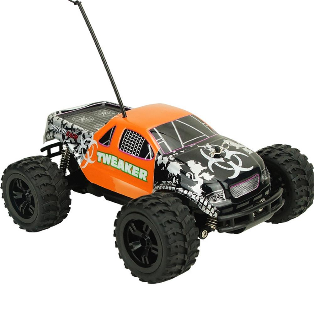 rc-cars Zingo Racing 9112M TWEAKER 15km/h 1/18 27MHZ RWD Rc Car Monster Off-road Truck RTR Toy RC1390109 2