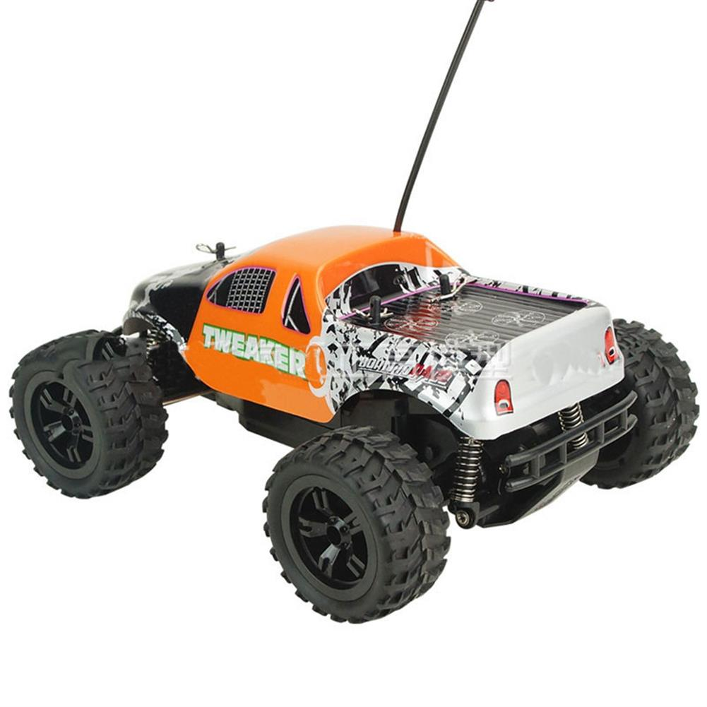 rc-cars Zingo Racing 9112M TWEAKER 15km/h 1/18 27MHZ RWD Rc Car Monster Off-road Truck RTR Toy RC1390109 3