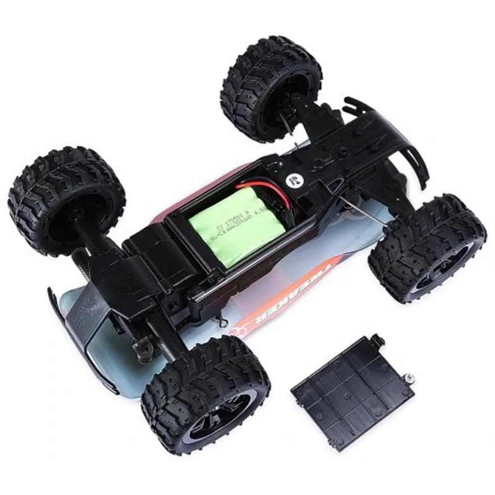 rc-cars Zingo Racing 9112M TWEAKER 15km/h 1/18 27MHZ RWD Rc Car Monster Off-road Truck RTR Toy RC1390109 6