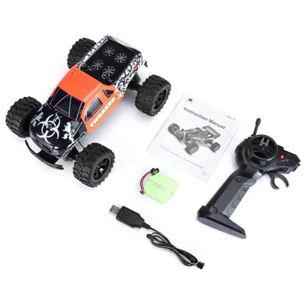 rc-cars Zingo Racing 9112M TWEAKER 15km/h 1/18 27MHZ RWD Rc Car Monster Off-road Truck RTR Toy RC1390109 7
