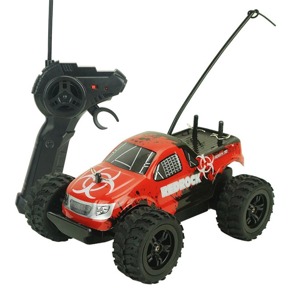 rc-cars Zingo Racing 9116M REDROCK 1/24 27MHZ 15km/h RWD Rc Car Monster Off-road Truck Without Battery Toy RC1390140