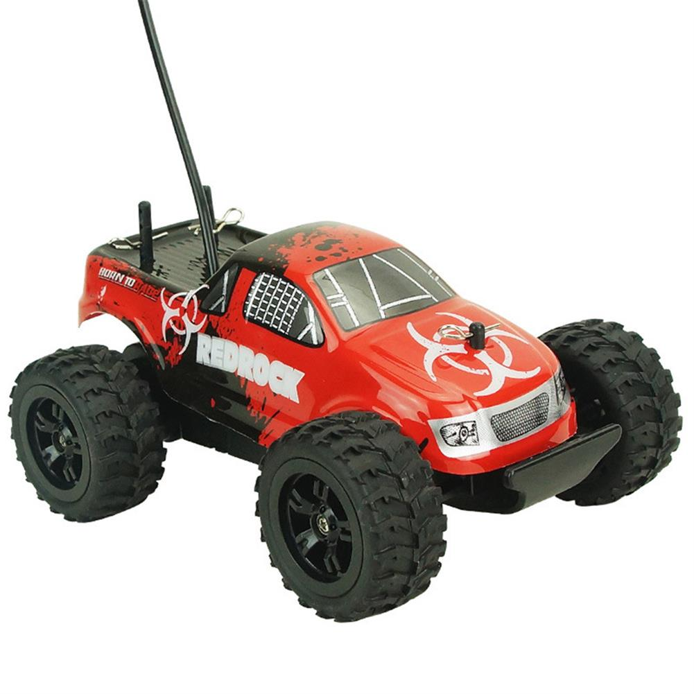 rc-cars Zingo Racing 9116M REDROCK 1/24 27MHZ 15km/h RWD Rc Car Monster Off-road Truck Without Battery Toy RC1390140 1