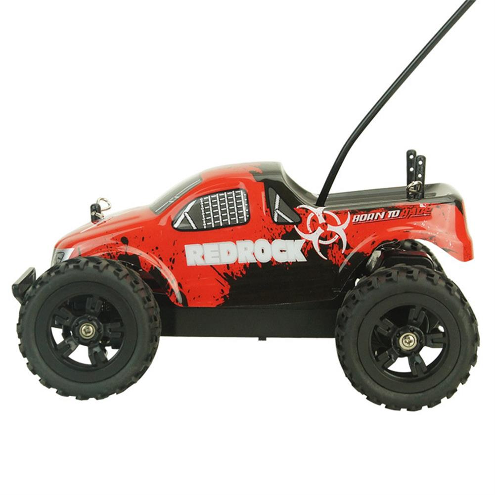 rc-cars Zingo Racing 9116M REDROCK 1/24 27MHZ 15km/h RWD Rc Car Monster Off-road Truck Without Battery Toy RC1390140 2
